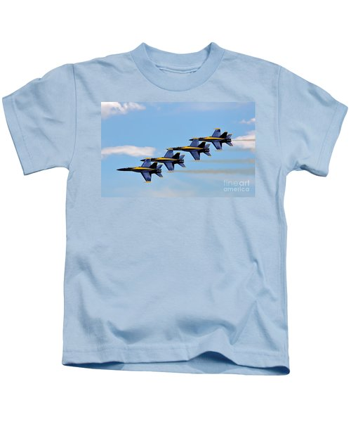 Angels Of The Sky Kids T-Shirt