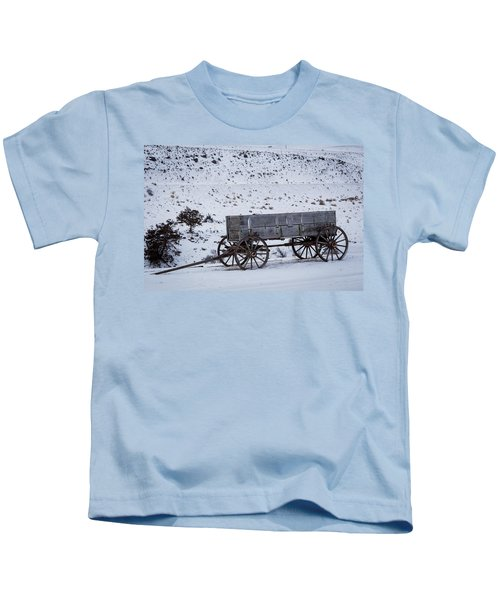 Antique Wagon Kids T-Shirt