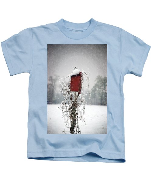 At Home In The Snow Kids T-Shirt