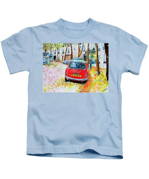 Avenue Junot In Autumn Kids T-Shirt