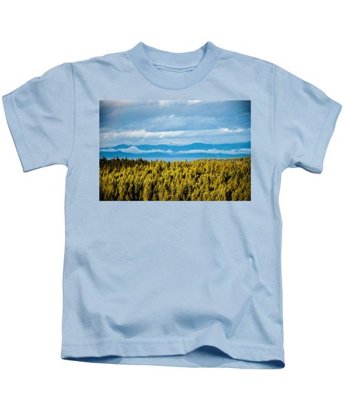 Backroad Ocean View Kids T-Shirt