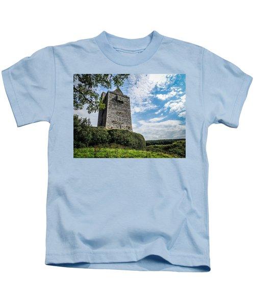 Ballinalacken Castle In Ireland's County Clare Kids T-Shirt