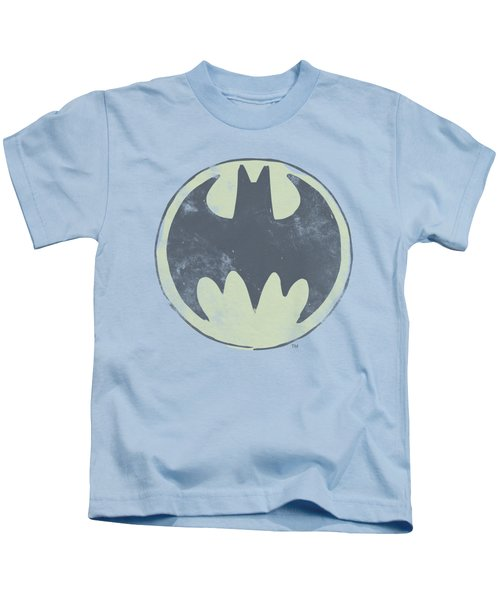 Batman - Old Time Logo Kids T-Shirt