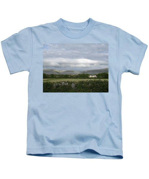 Baughlyvann Clouds Kids T-Shirt