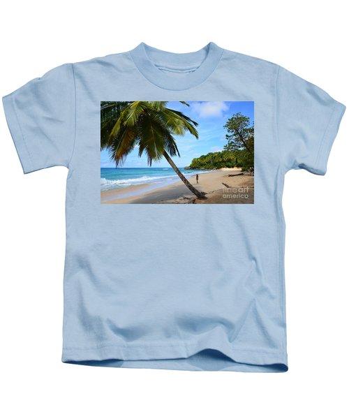 Beach In Dominican Republic Kids T-Shirt