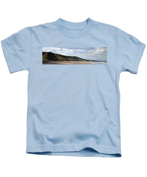Beach - Saltburn Hills - Uk Kids T-Shirt