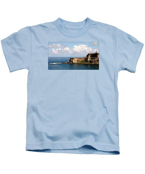 Beautiful El Morro Kids T-Shirt