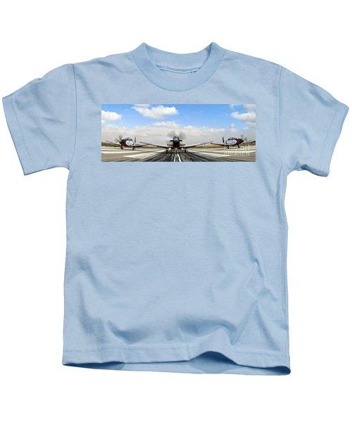 Beechcraft T-6a Texan II -  Kids T-Shirt