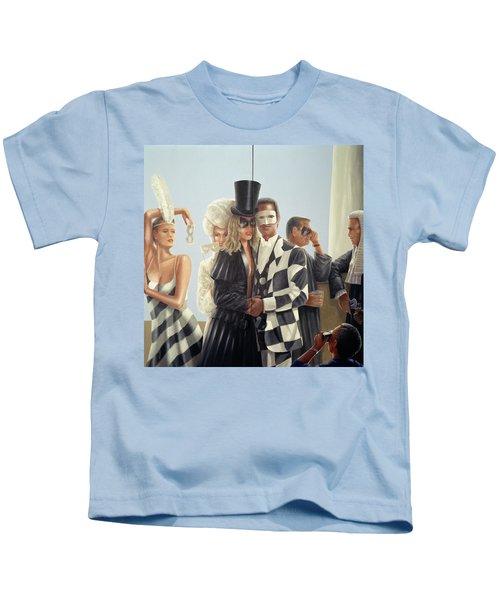 Berkley Hotel Mural - 1 Kids T-Shirt