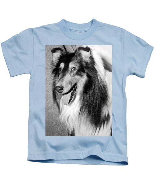 Best Of Breed Collie Kids T-Shirt