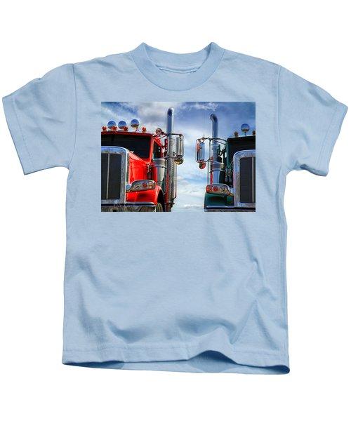 Big Trucks Kids T-Shirt