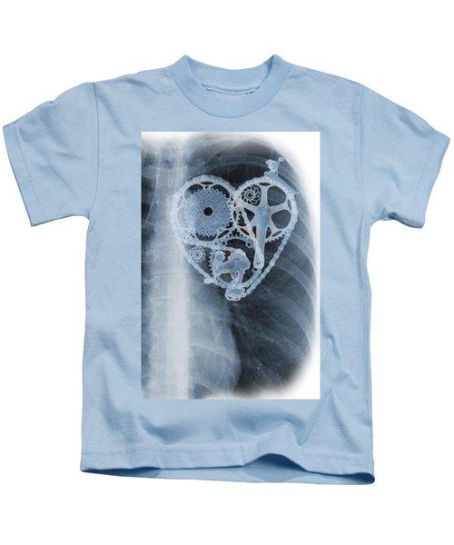 bike lover X-ray Kids T-Shirt