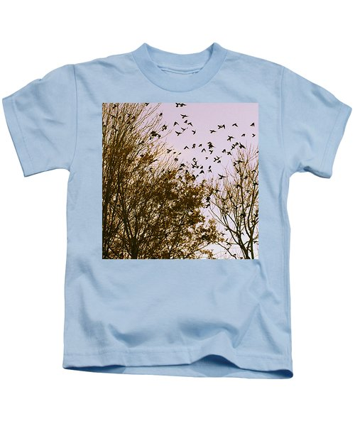 Birds Of A Feather Flock Together Kids T-Shirt