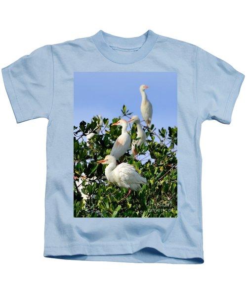 Birds Quartet Kids T-Shirt