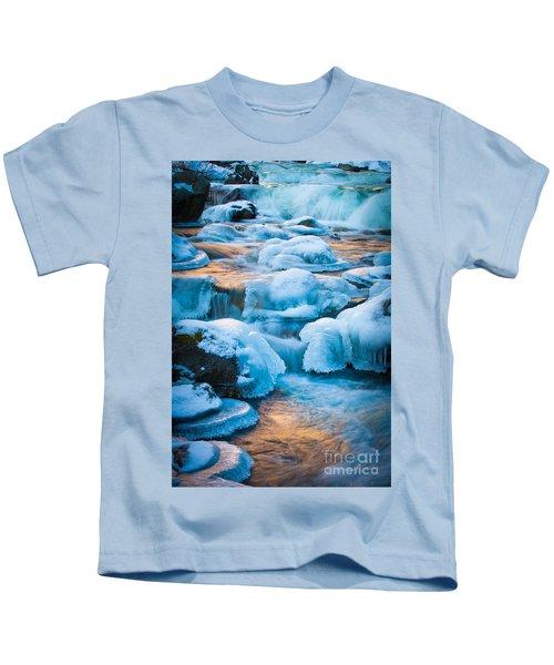 Blewett Pass Creek Kids T-Shirt