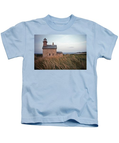 Block Island North West Lighthouse Kids T-Shirt