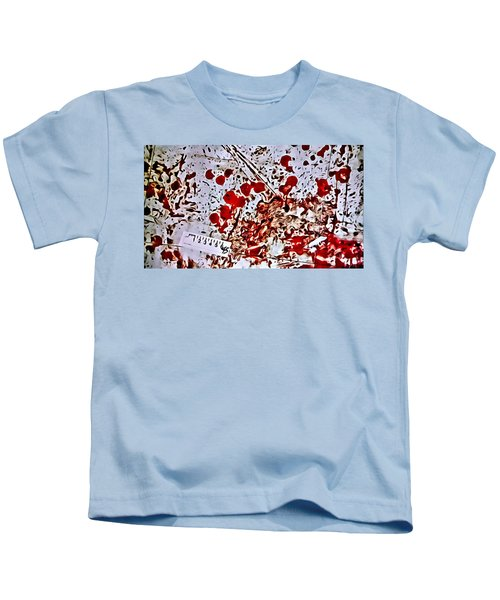 Blood Spatter Kids T-Shirt