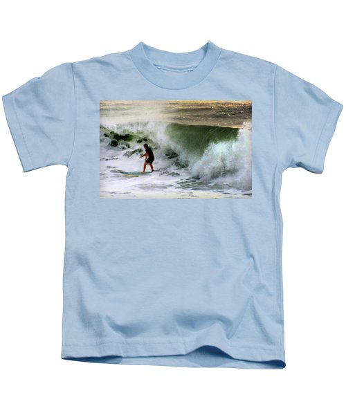 Blue Board Kids T-Shirt