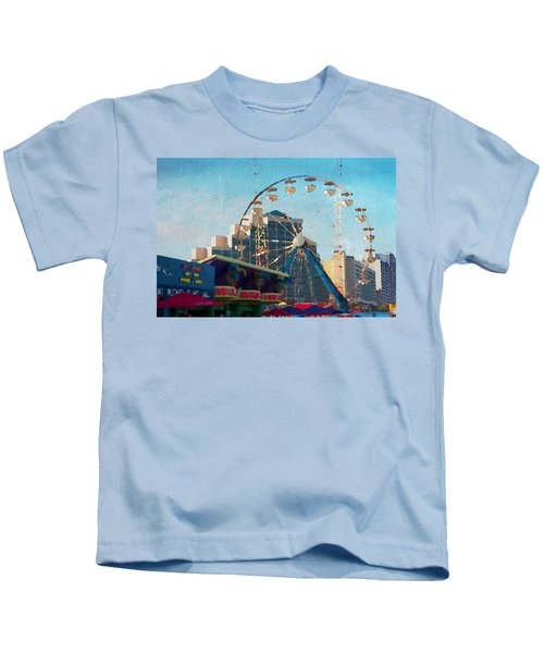 Boardwalk Ferris  Kids T-Shirt