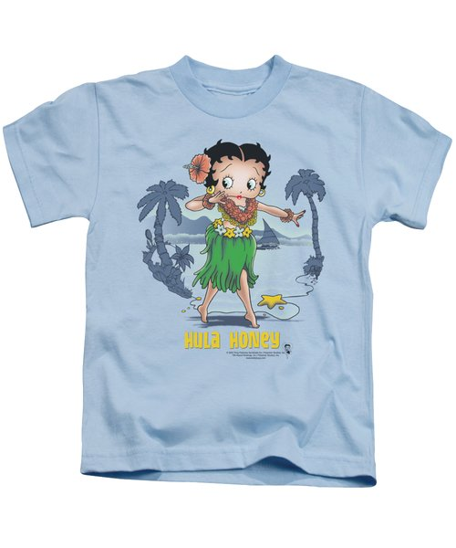 Boop - Hula Honey Kids T-Shirt