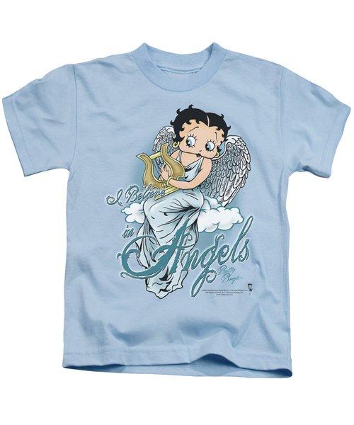 Boop - I Believe In Angels Kids T-Shirt