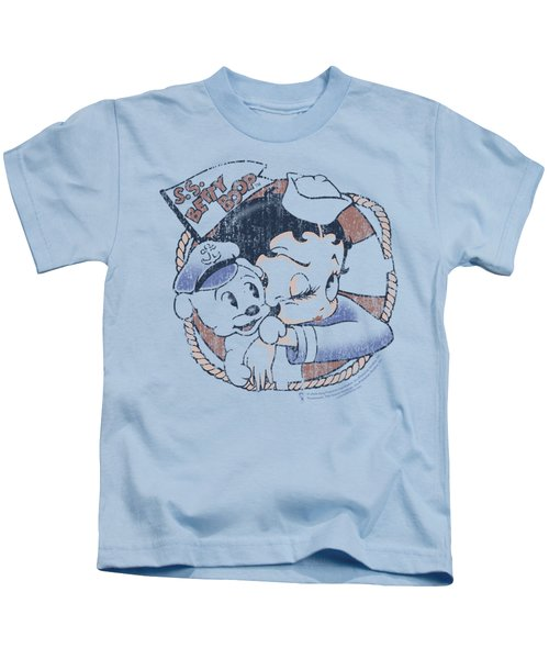 Boop - S.s. Vintage Kids T-Shirt