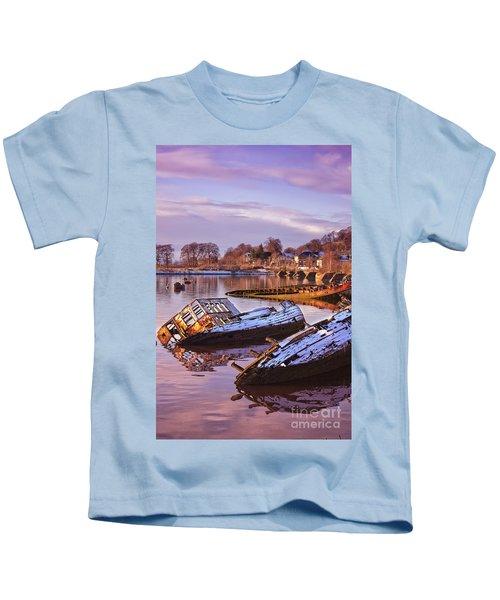 Bowling Harbour 03 Kids T-Shirt