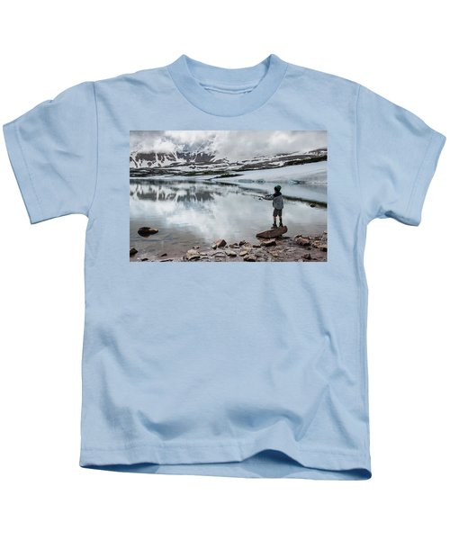Boys Fish In Superior Lake During A Six Kids T-Shirt