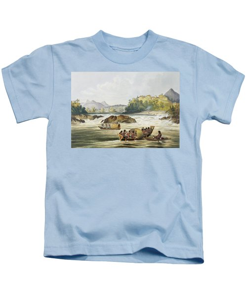 Brazilian Fort St. Gabriel On The Rio Kids T-Shirt