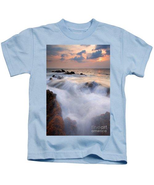 Break In The Storm Kids T-Shirt