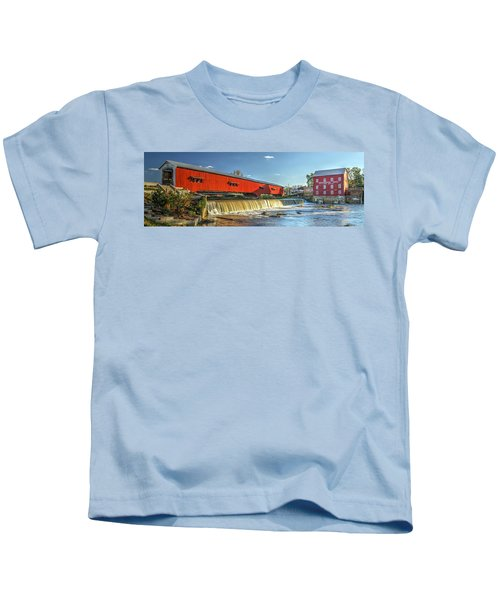Bridgeton Bridge And Mill Kids T-Shirt