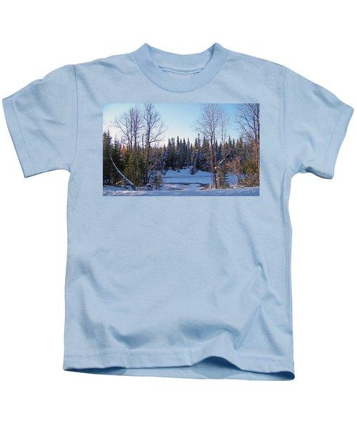 Brook Meets Stream Kids T-Shirt