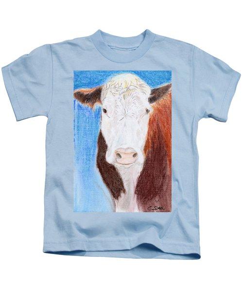 Brown-eyed Girl Kids T-Shirt