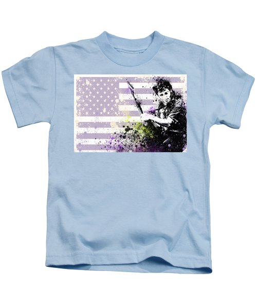 Bruce Springsteen Splats Kids T-Shirt