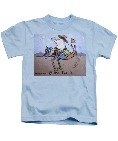 Buck Tooth Kids T-Shirt