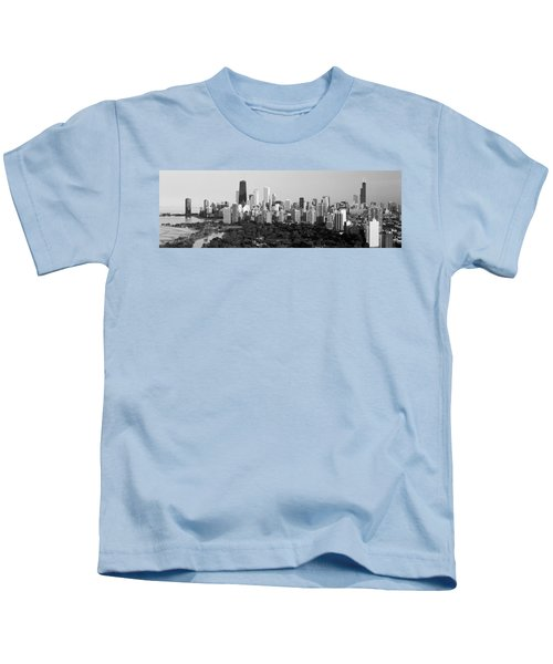 Buildings In A City, View Of Hancock Kids T-Shirt