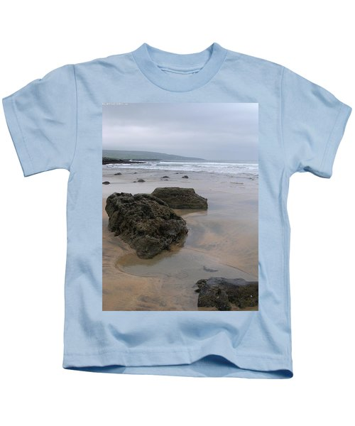 Buren Gold Beach Kids T-Shirt