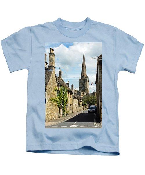 Burford Village Street Kids T-Shirt