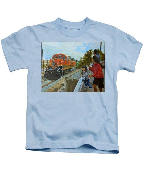 Burlington Northern Santa Fe Kids T-Shirt