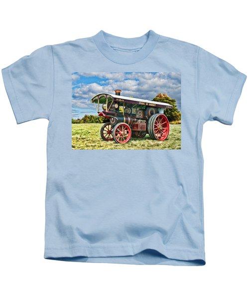 Burrell Showmans Engine Kids T-Shirt