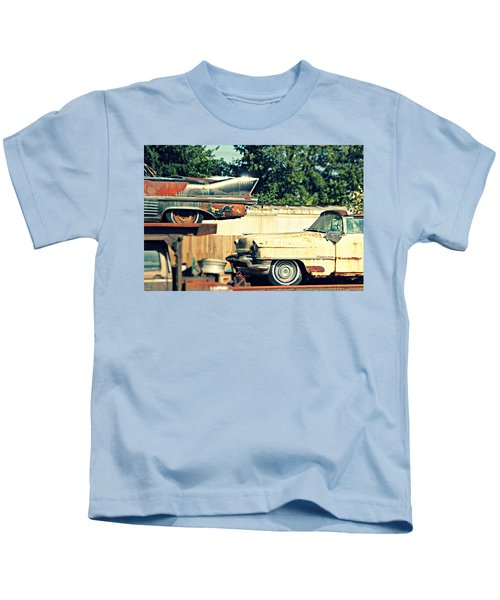 Cadillacs In Decay Kids T-Shirt