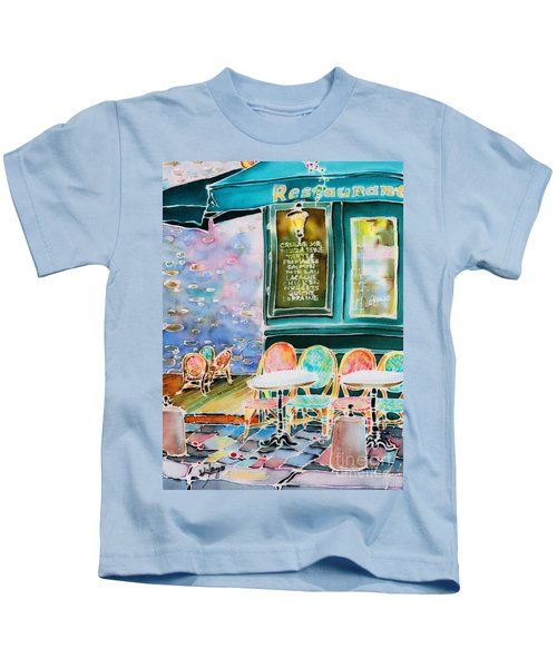 Cafe In Montmartre Kids T-Shirt