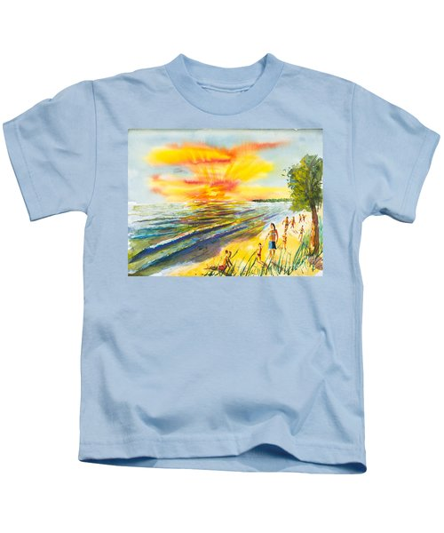 California Sunset Kids T-Shirt