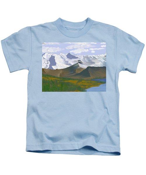 Canadian Rockies Kids T-Shirt