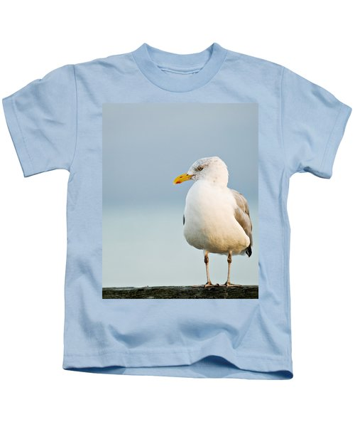 Cape Cod Seagull Kids T-Shirt