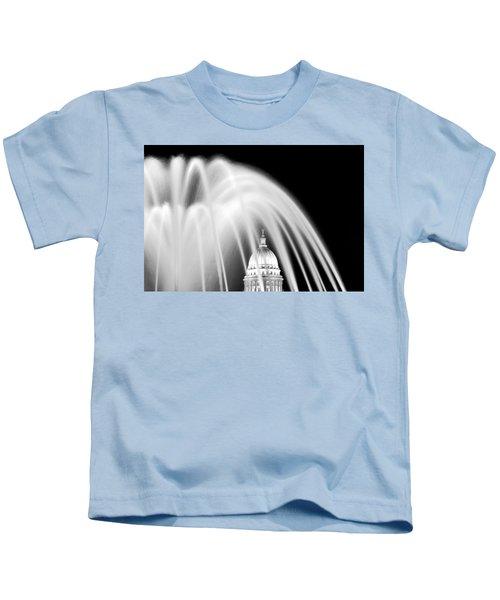 Capitol Fountain Kids T-Shirt
