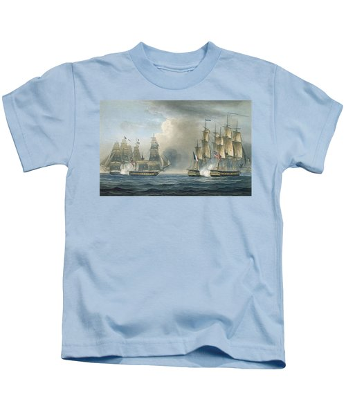 Capture Of The Pomone By Hms Arethusa Kids T-Shirt