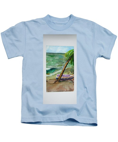 Caribbean Morning II Kids T-Shirt