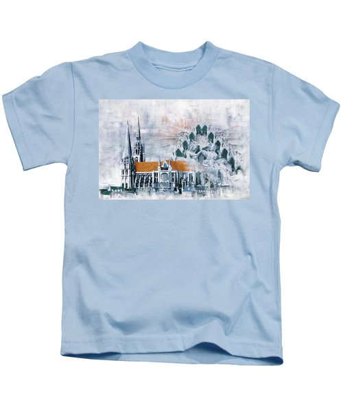 Chartres Cathedral Kids T-Shirt