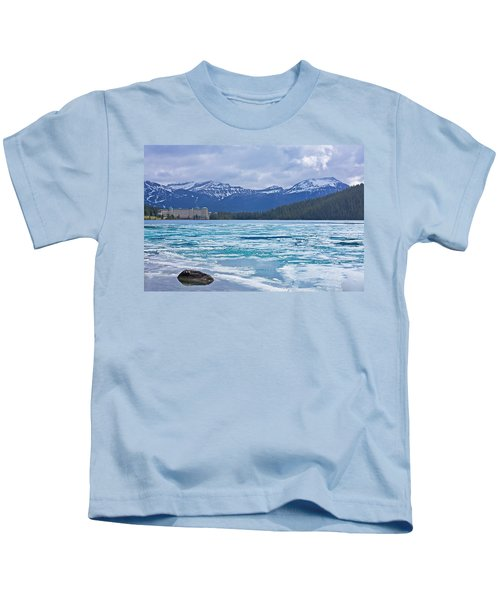 Chateau Lake Louise #2 Kids T-Shirt